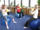 cvičení na balónech